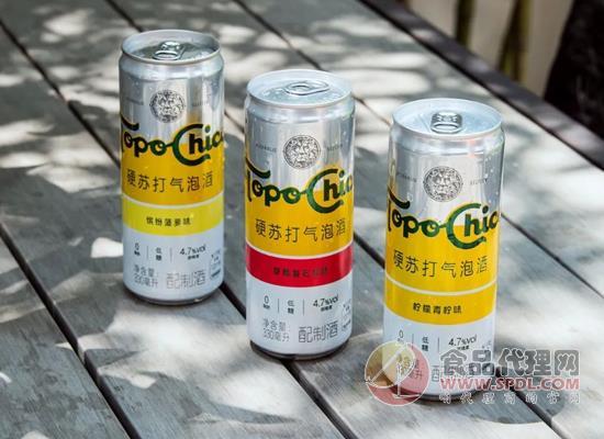 可口可樂上新托帕客酒飲料,中國酒精飲料市場的突破性嘗試!