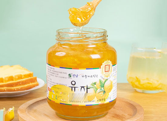 全南蜂蜜柚子茶價格,柚子邂逅蜂蜜,滿滿的美味營養