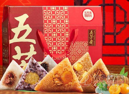 五芳齋粽子禮盒價格是多少,用心造就好味道