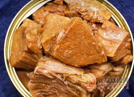 大龍漁紅燒牛肉罐頭價格,香濃下飯,老少皆宜
