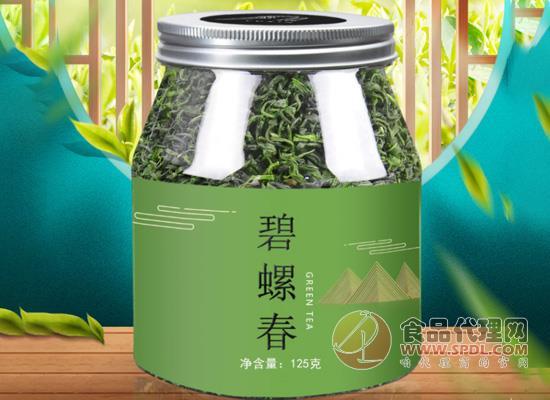 八窨飄雪碧螺春茶葉綠茶多少錢,茶香馥郁淡蘭香