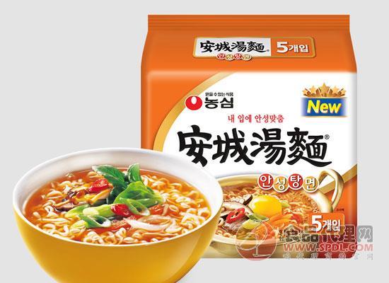 農心安城湯面價格,又耐煮又勁道