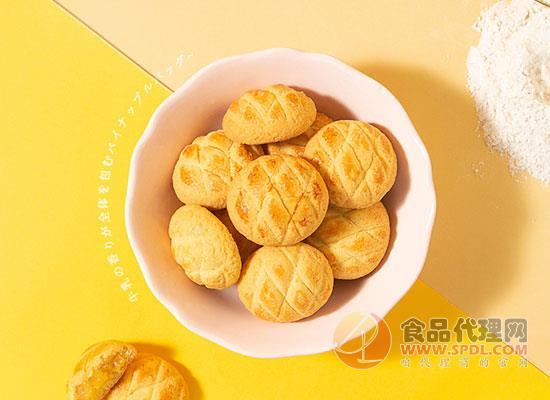 美味棧菠蘿爆漿軟心曲奇餅價格,口感順滑,酥脆細膩