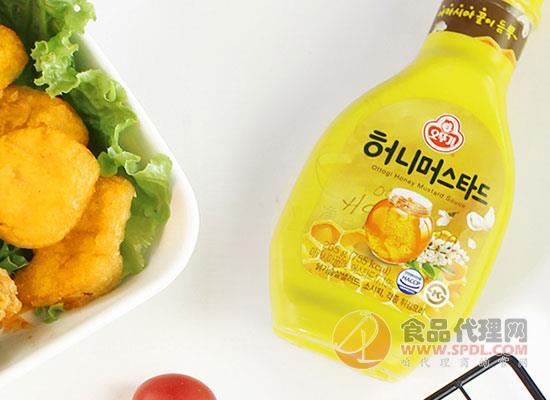 不倒翁蜂蜜芥末醬多少錢,韓國原裝進口