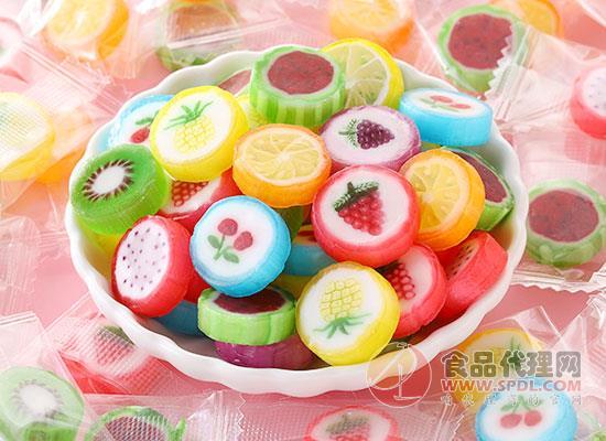 其妙水果切片糖價格,口味多樣,果味十足