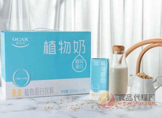 歐扎克植物奶四大優勢,掀起健康飲品新風潮