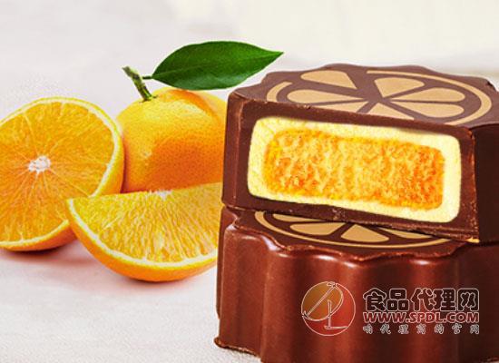 諾梵中秋巧克力夾心月餅價格,甜蜜可口,滿足味蕾