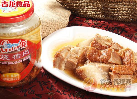 古龙红烧猪肉罐头价格,一罐搞定美味