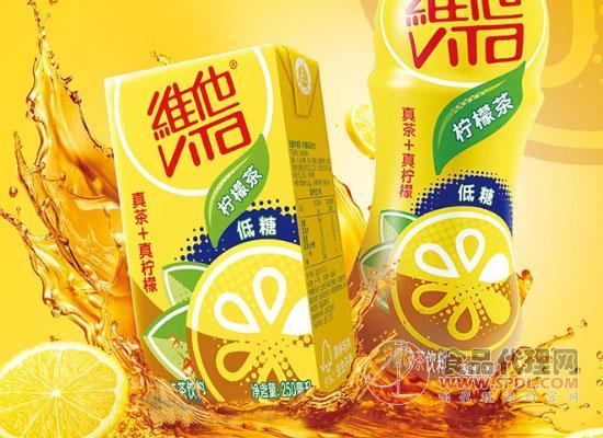 維他奶經典檸檬茶飲料價格,口感激爽