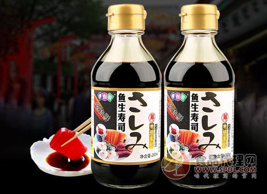 伊例家魚生壽司醬油價格怎么樣,讓美味更簡單
