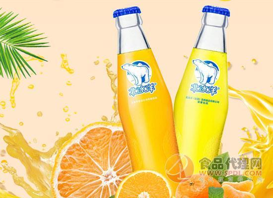 北冰洋橙桔双拼汽水价格,冰凉酷爽,营养又健康