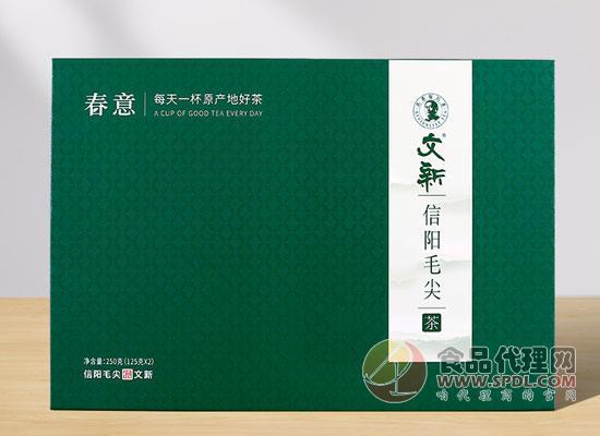 文新信阳毛尖多少钱,非遗九道传统工艺制茶