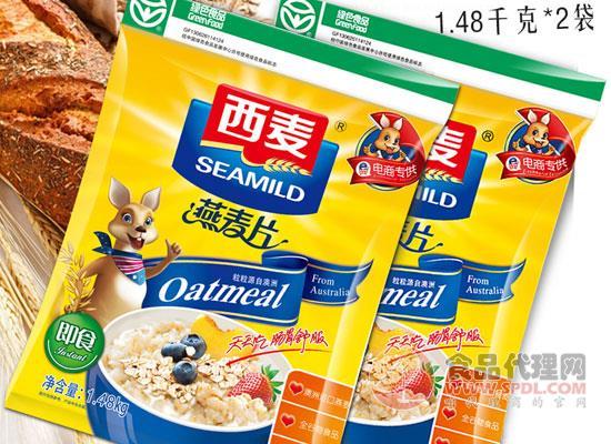 西麦燕麦片价格怎么样,原料精选澳洲进口