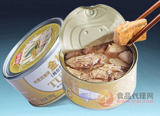 鱼家香黄豆油浸金枪鱼罐头多少钱,经典风味,好吃的秘密