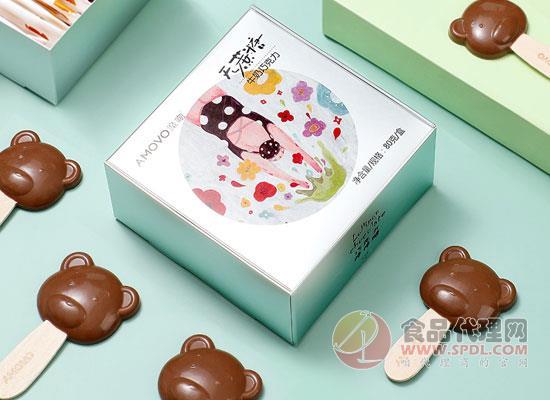 魔吻小熊牛奶巧克力棒棒糖多少钱,多种口味供你选择