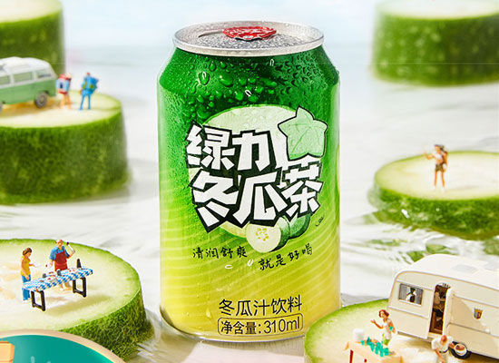 绿力冬瓜茶多少钱一箱,清润舒爽,解油解腻