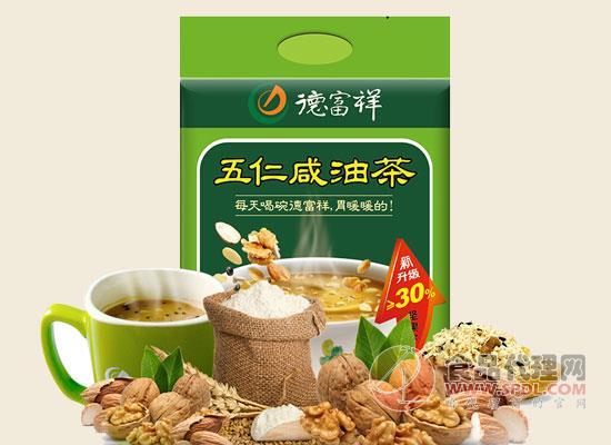 德富祥五仁咸油茶价格,粉末细腻,香味浓郁
