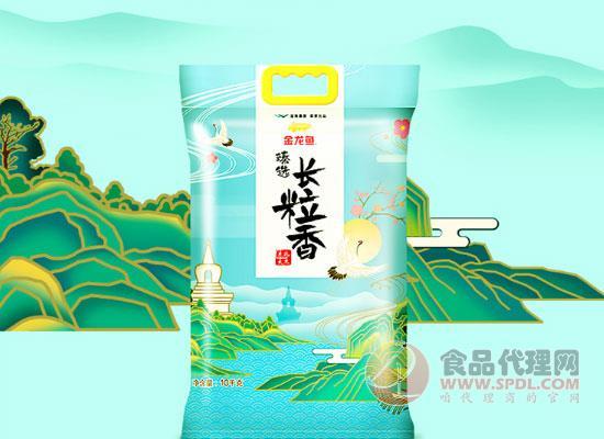 金龙鱼东北大米价格,米粒饱满,晶莹剔透