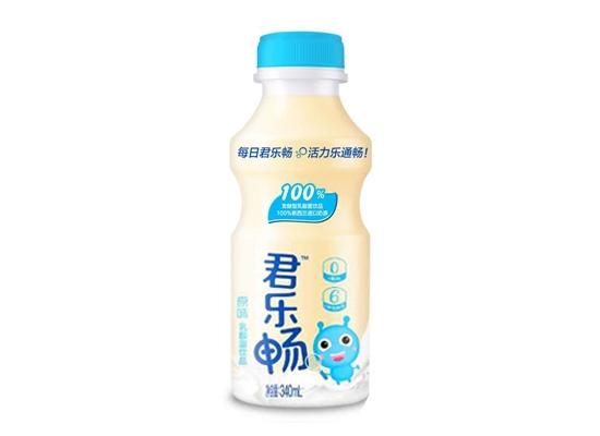 君乐畅乳酸菌好喝又营养,保护你的肠胃健康