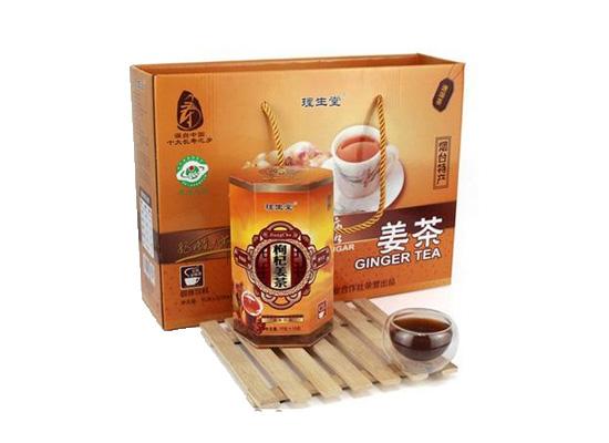 莱州大姜地理的标志,姜茶味道甜中带辣令人回味无穷!