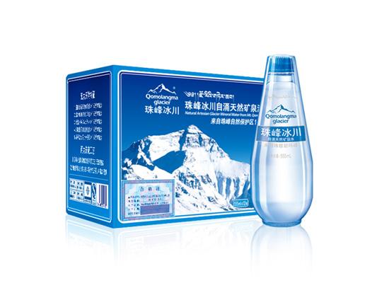 珠峰冰川泉水取自珠穆朗玛峰脚下,水源地决定了品质!