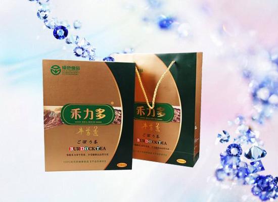 牛蒡茶的功效很多,属于绿色营养保健茶!