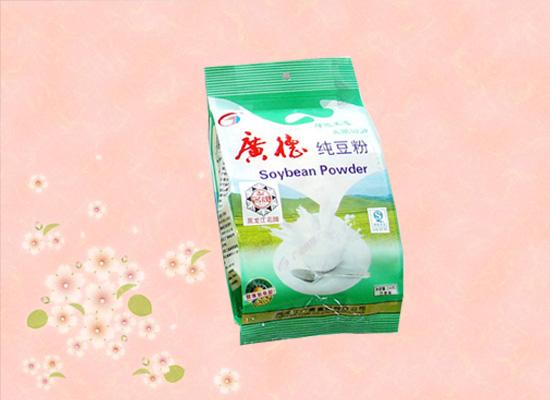 好喝又方便的豆奶粉,热水一冲香味满屋!