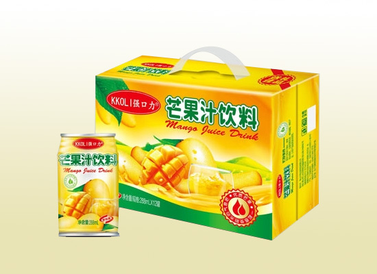 强口力芒果汁你的品质之选,带你清凉整个夏天