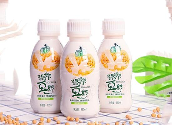 用高品质打造消费者满意的乳饮料,以营养为发展要务