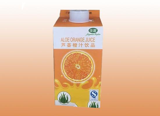 佳源芦荟橙汁富含维生素,唤醒你体内的休闲因子