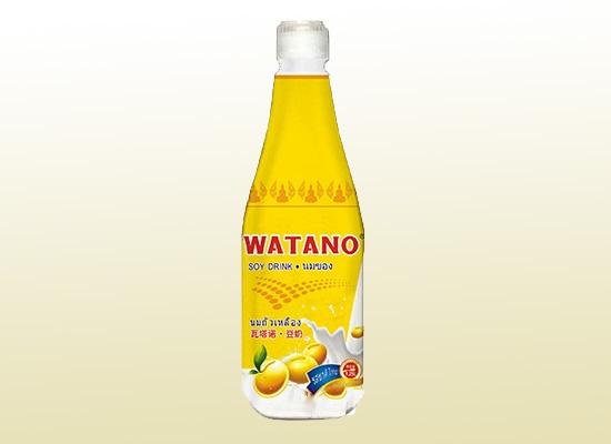 瓦塔诺豆奶健康与品质同在,让你的早餐时光更营养