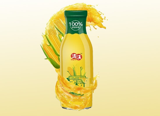 用品质打造健康饮品,清沃玉米汁做你的健康小卫士