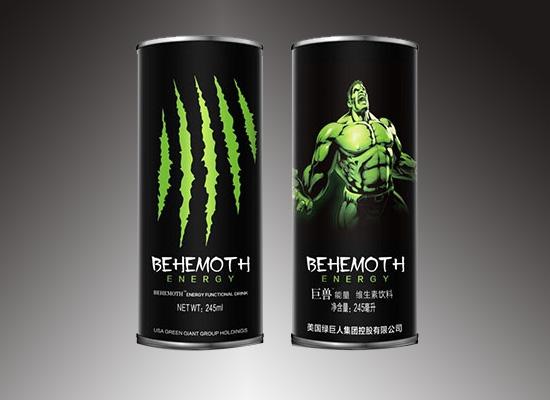 巨兽能量饮料用品质唤醒你的能量,让你活力满满一整天
