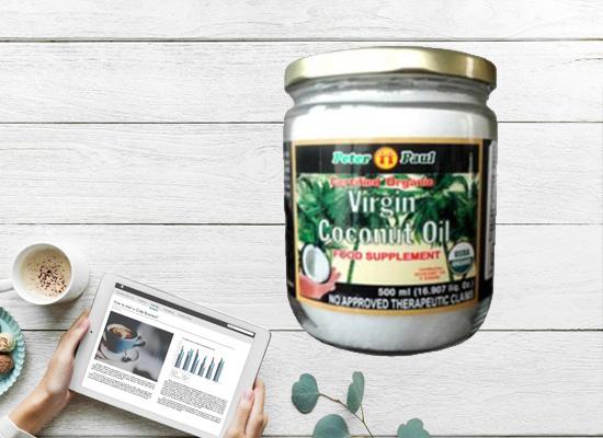 椰子油脂肪含量低,非常容易被人体消化吸收!