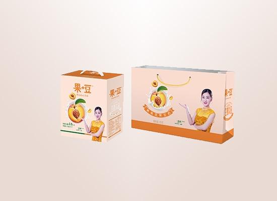 果+豆黄桃共同演绎健康产品,新鲜与营养并存