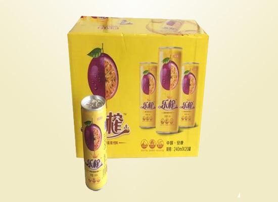 乐榨果汁饮料:满口新鲜看得见,多种口味任你挑选