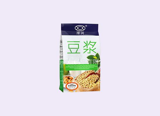 如果豆浆粉没营养,为什么消费者喜欢买来喝!