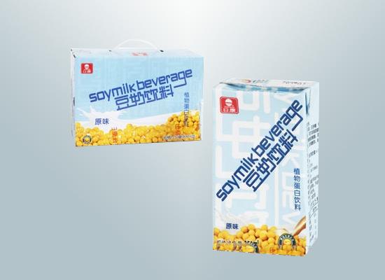 日康食品布局健康早餐市场,打造全新豆奶饮料单品