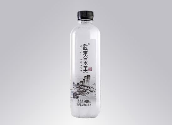 好山出好水,武夷泉美用自然打造天然好泉水