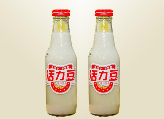 活力豆豆奶:经典玻璃瓶缔造创意产品,营养早餐之选