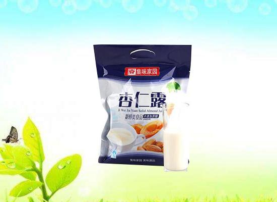 杏仁露粉帮你解决营养问题,食用价值非常高!