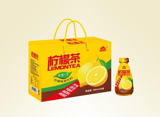 金客多柠檬茶:有颜更好喝,佛系青年养生必备茶饮料