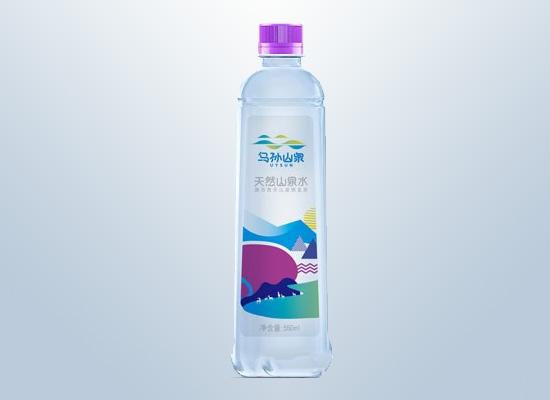 乌孙天然山泉水:天然清爽好水,健康看得见