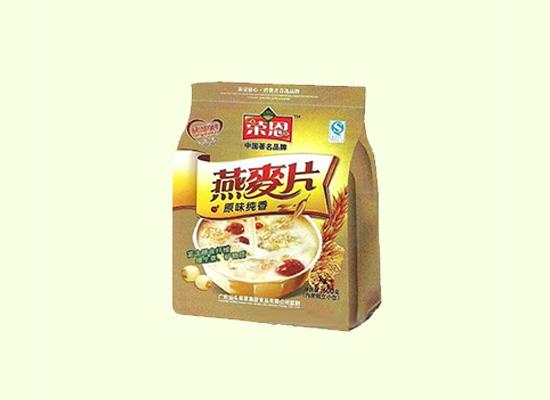 低糖高营养的燕麦片,是你绿色食品的一种选择!