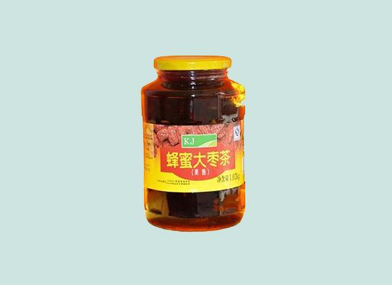 KJ蜂蜜大枣茶:大枣和蜂蜜的巧妙融合,味道淡而不俗!