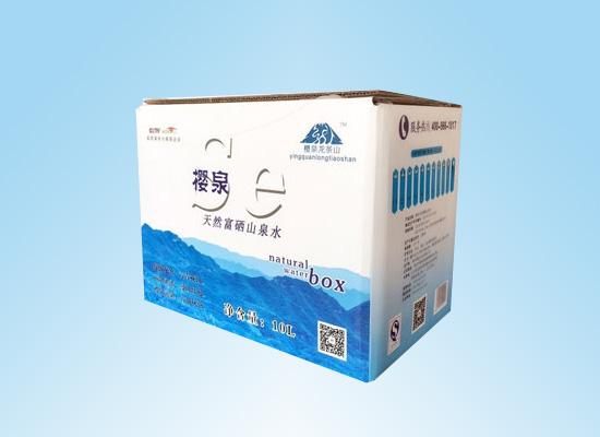 樱泉水业:取自天然富硒水资源,打造健康营养山泉水