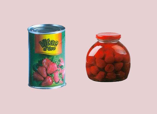 金维草莓罐头将草莓的营养锁在罐头中,每一口都是新鲜味道