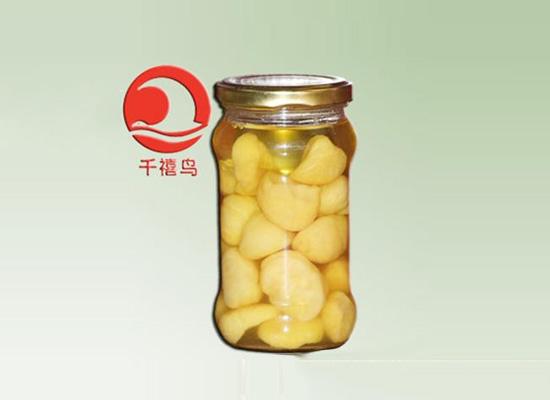 千禧鸟糖水板栗罐头,干果也能做罐头!