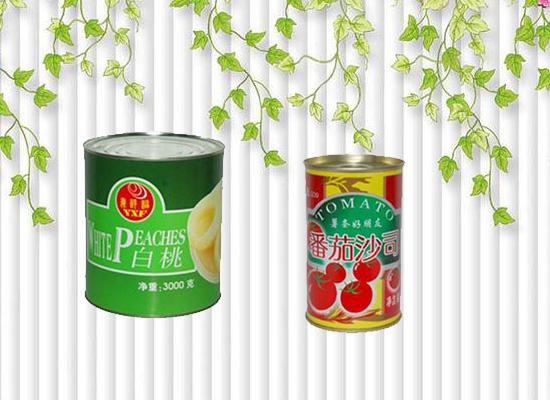 罐头食品之所以能够保存长久,得益于罐头的包装!