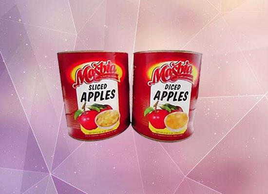 雨叶苹果罐头颜色风味俱佳,高颜值包装引人视线!